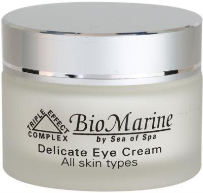 Sea of Spa Bio Marine нежен крем за околоочния контур за всички типове кожа на лицето