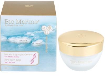 Sea of Spa Bio Marine crema de noche nutritiva  para todo tipo de pieles 1