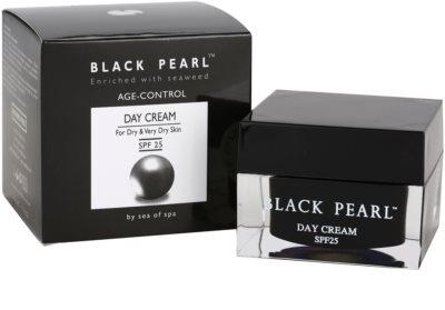 Sea of Spa Black Pearl krem przeciwzmarszczkowy na dzień do skóry suchej i bardzo suchej 3