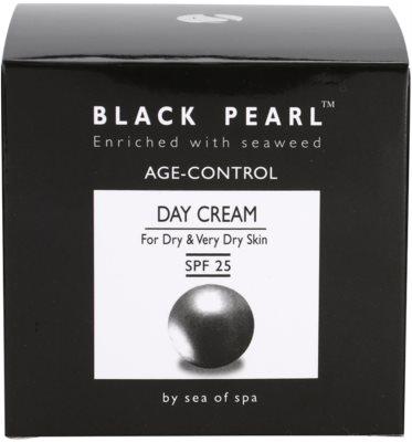 Sea of Spa Black Pearl krem przeciwzmarszczkowy na dzień do skóry suchej i bardzo suchej 4