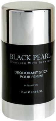 Sea of Spa Black Pearl desodorante en barra para mujer