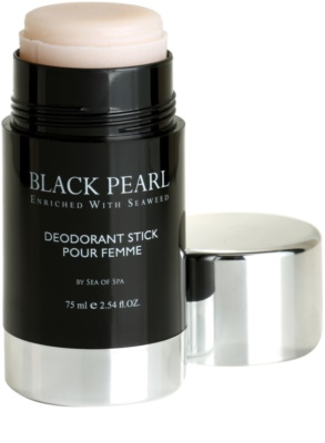 Sea of Spa Black Pearl dezodor deo stift  hölgyeknek 1