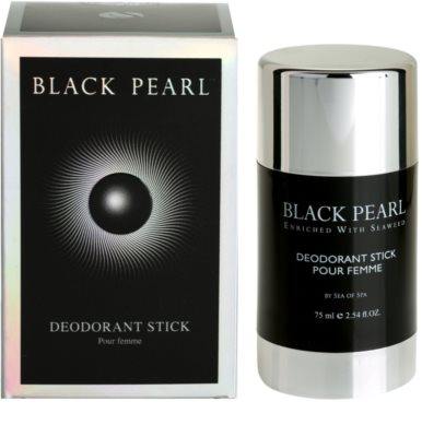 Sea of Spa Black Pearl dezodor deo stift  hölgyeknek 2
