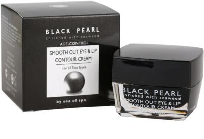 Sea of Spa Black Pearl krém na rty a oční okolí pro všechny typy pleti 3