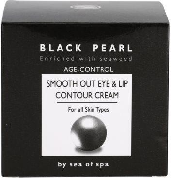 Sea of Spa Black Pearl krém a szemkörnyék és a száj ápolására minden bőrtípusra 4