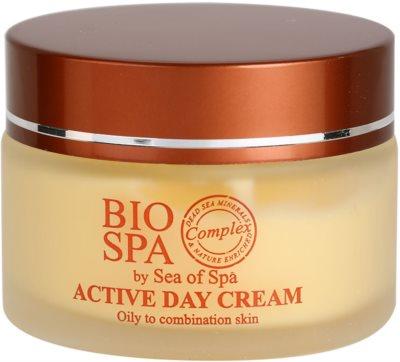 Sea of Spa Bio Spa aktívny denný krém pre zmiešanú až mastnú pokožku