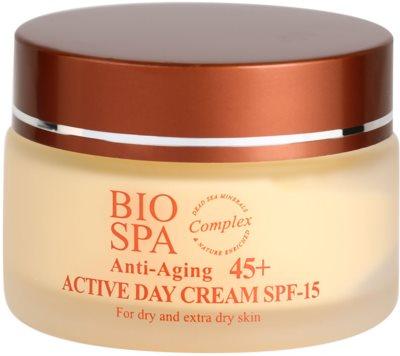 Sea of Spa Bio Spa crema de día activa  45+