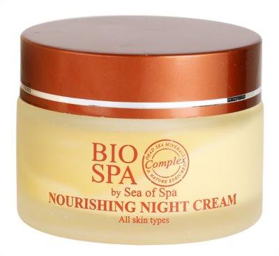 Sea of Spa Bio Spa crema de noapte hranitoare pentru toate tipurile de ten