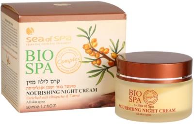 Sea of Spa Bio Spa crema de noapte hranitoare pentru toate tipurile de ten 3