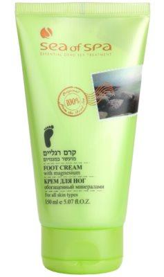 Sea of Spa Essential Dead Sea Treatment crema de picioare cu minerale de la Marea Moarta