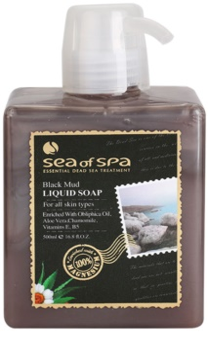 Sea of Spa Essential Dead Sea Treatment sabonete líquido com lama negra