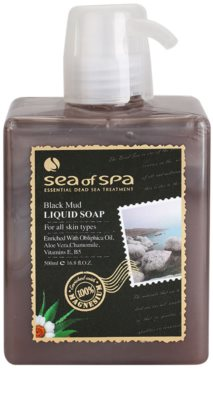 Sea of Spa Essential Dead Sea Treatment sapun lichid cu namol negru