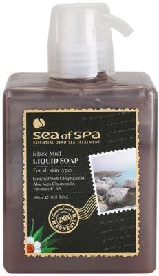 Sea of Spa Essential Dead Sea Treatment течен сапун с черна кал
