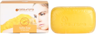Sea of Spa Essential Dead Sea Treatment sapun solid cu sulf 1