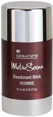 Sea of Spa Metro Sexual desodorizante em stick para homens