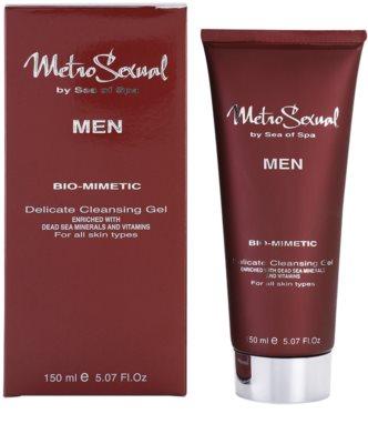 Sea of Spa Metro Sexual gel de limpeza suave para rosto 1