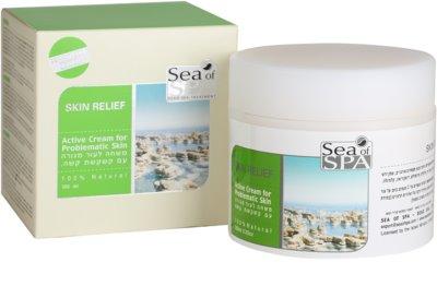 Sea of Spa Skin Relief creme ativo para pele problemática  com mineiras curativos do Mar Morto 3