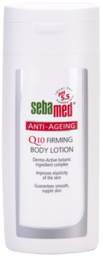 Sebamed Anti-Ageing leite corporal refirmante Q10