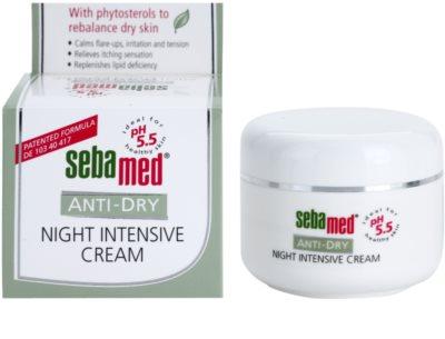 Sebamed Anti-Dry creme de noite intensivo com fitoesteróis 1