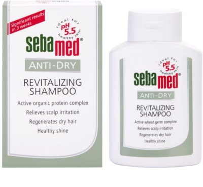 Sebamed Anti-Dry sampon revitalizant cu Fitosteroli 1