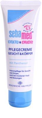 Sebamed Baby Care охоронний крем для обличчя та тіла