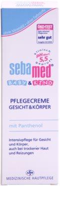 Sebamed Baby Care Schutzcreme Für Gesicht und Körper 2
