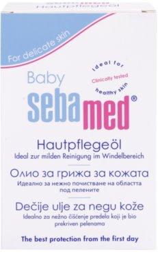 Sebamed Baby Care óleo de limpeza  para peles secas e sensíveis 2