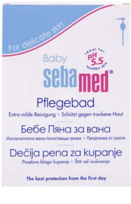 Sebamed Baby Wash pena do kúpeľa 2