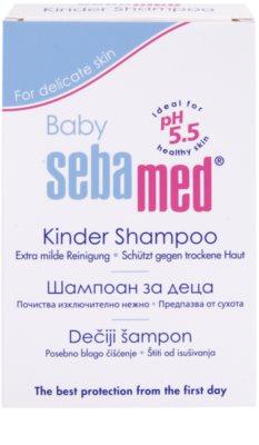 Sebamed Baby Wash sampon a finom hajért 2