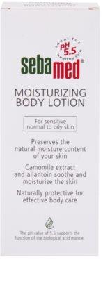 Sebamed Body Care зволожуюче молочко для тіла для чутливої, нормальної та жирної шкіри обличчя 2