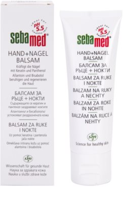Sebamed Body Care bálsamo para manos y uñas 1