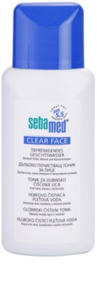Sebamed Clear Face loción facial limpiadora en profundidad