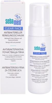 Sebamed Clear Face antibakterieller Reinigungsschaum 1