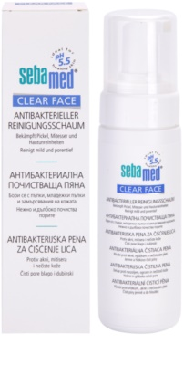 Sebamed Clear Face spuma antibacteriana de curatare 1