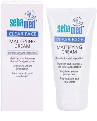 Sebamed Clear Face mattierende Creme 1