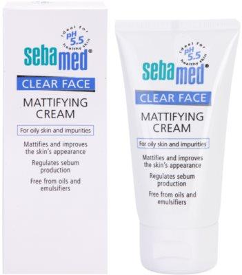 Sebamed Clear Face matující krém 1