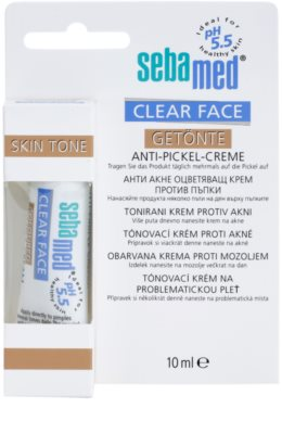 Sebamed Clear Face tonizáló krém pattanások ellen 1