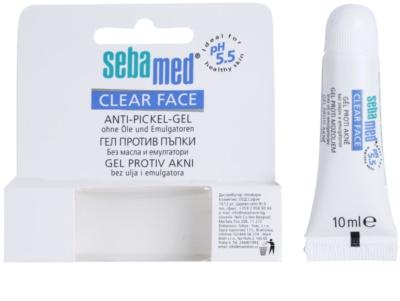 Sebamed Clear Face gel impotriva acneei 1