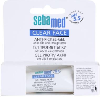 Sebamed Clear Face gel impotriva acneei 2