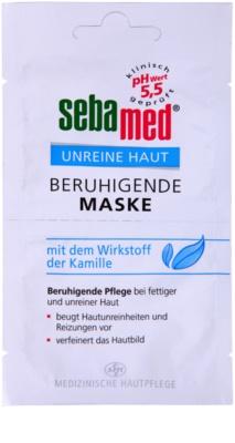 Sebamed Clear Face zklidňující pleťová maska s heřmánkem