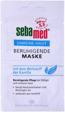Sebamed Clear Face успокояваща маска за лице с лайка