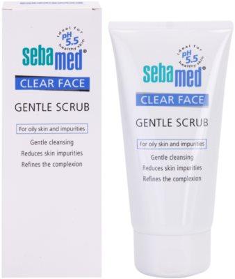 Sebamed Clear Face delikatny peeling do twarzy 1