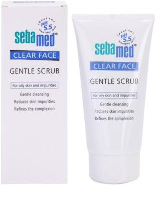 Sebamed Clear Face делікатний пілінг для шкіри 1