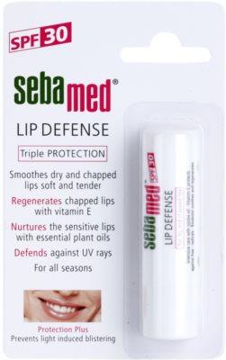 Sebamed Face Care регенериращ балсам за устни с UVA и UVB филтри