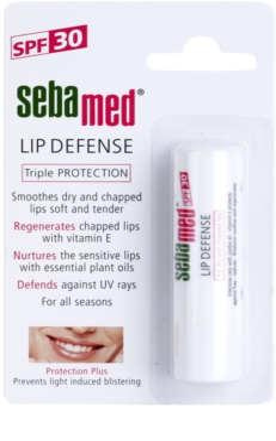 Sebamed Face Care regeneracijski balzam za ustnice z UVA in UVB filtri