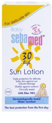 Sebamed Baby Sun leite solar para crianças SPF 30 2