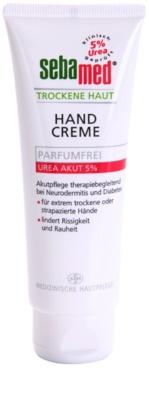 Sebamed Extreme Dry Skin creme de mãos suave sem perfume