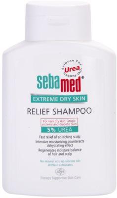 Sebamed Extreme Dry Skin champô apaziguador  para cabelo muito seco para cabelos muito secos