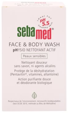 Sebamed Wash jemná umývacia emulzia na telo a tvár pre citlivú pokožku 2