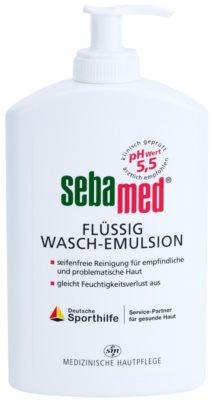 Sebamed Wash lotiune delicata pentru spalarea fetei si a corpului pentru sensibil , normal la ten gras